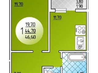 Продажа квартир: 1-комнатная квартира, Краснодар, Береговая ул., 2, фото 1