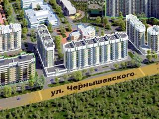 Продажа квартир: 2-комнатная квартира в новостройке, Красноярск, ул. Чернышевского, 75, фото 1