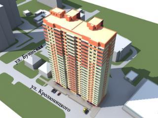 Продажа квартир: 2-комнатная квартира в новостройке, Ульяновск, ул. Кролюницкого, 25, фото 1