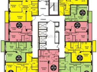 Продажа квартир: 1-комнатная квартира в новостройке, Красноярск, ул. Калинина, 41, фото 1