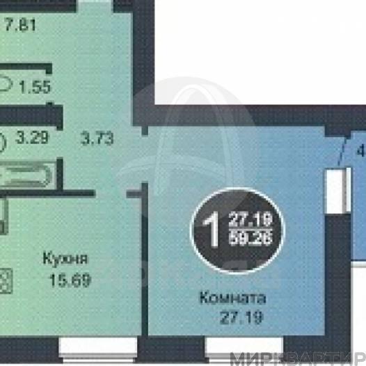 Продам квартиру в новостройке Тюменская область, Тюмень, снт. Плодовое, Широтная ул.