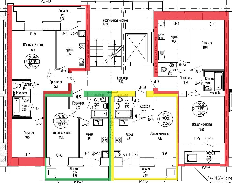 Продажа квартир: 1-комнатная квартира в новостройке, Йошкар-Ола, ул. Чернякова, фото 1