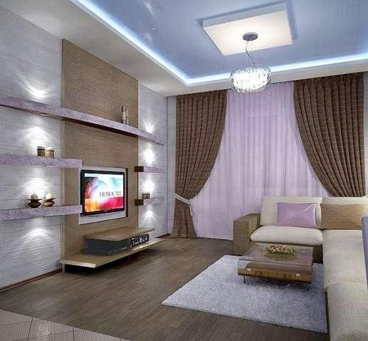 """Интерьер гостиной 5 на 5 zengaming """" улетный дизайн."""
