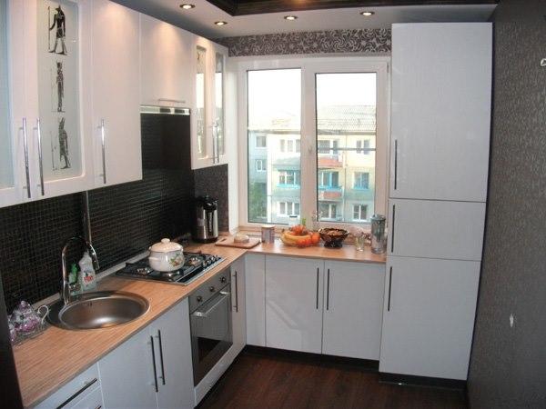 Дизайн кухни 8 кв м с выходом на балкон дизайн кухни - фото,.