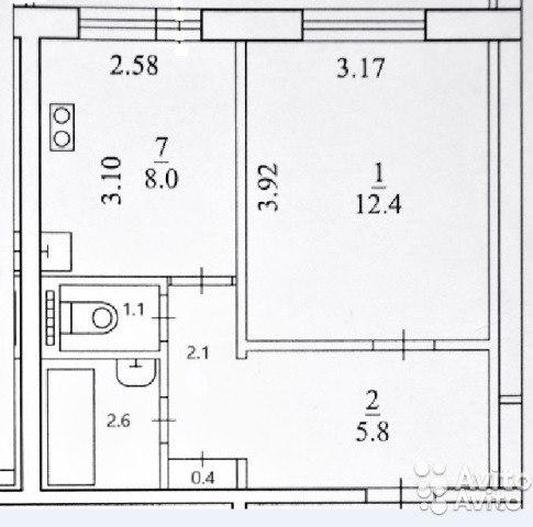 Продажа квартир: 1-комнатная квартира, Архангельск, пр-кт Ломоносова, 131, фото 1